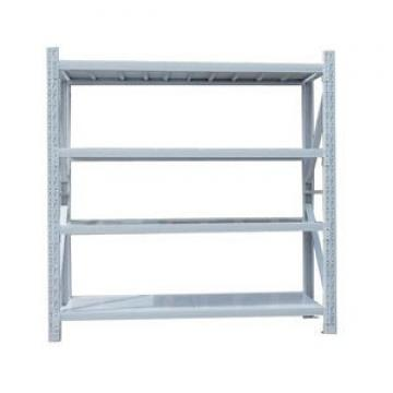warehouse shelving teardrop pallet rack with american standards for raw material storage