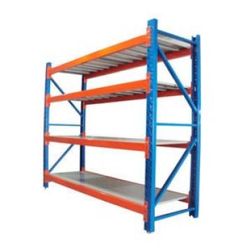 Industrial track warehouse steel shelving racking systems